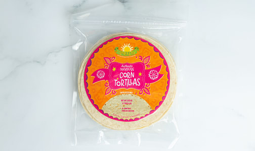 Organic Traditional Mexican-Style Corn Tortillas- Code#: SN1949