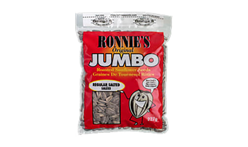 Ronnies - Jumbo Sunflower Seeds, Regular Salted- Code#: SN1969