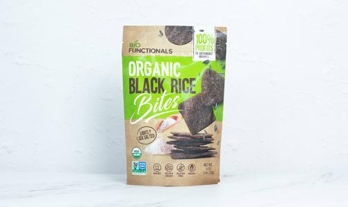 Organic Organic Blak Rice Bites - Sea Salt- Code#: SN1989