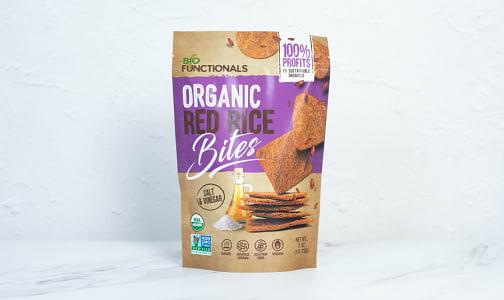 Organic Organic Red Rice Bites - Salt & Vinegar- Code#: SN1990