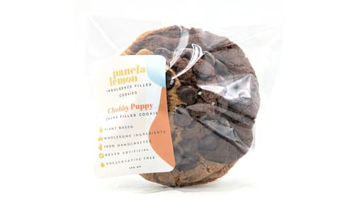 Chubby Puppy - Swirl Cookie Stuffed with Organic Crème (Frozen)- Code#: SN2014