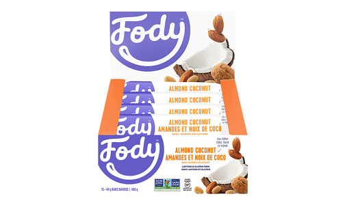 Almond Cocount Bars - Low FODMAP!- Code#: SN2025