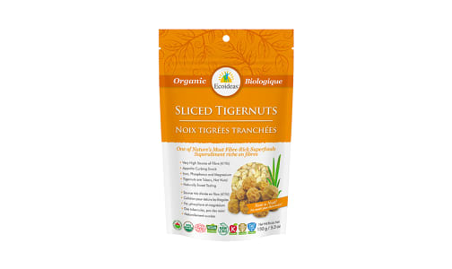 Organic Tigernuts - Sliced- Code#: SN2040