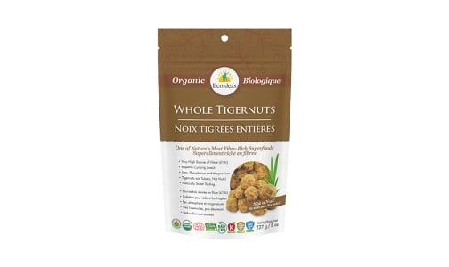 Organic Tigernuts - Whole- Code#: SN2042