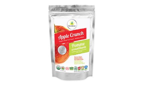 Organic Raw Apple Crunch- Code#: SN2050