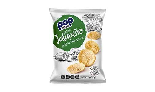 Jalapeno Salt Popped Chips- Code#: SN2066