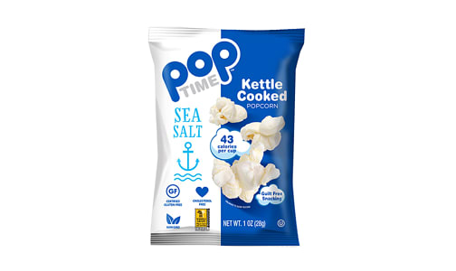 Sea Salt Kettle Cooked Popcorn- Code#: SN2074