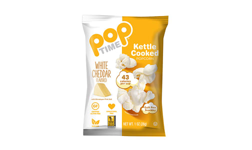 White Cheddar Kettle Cooked Popcorn- Code#: SN2075