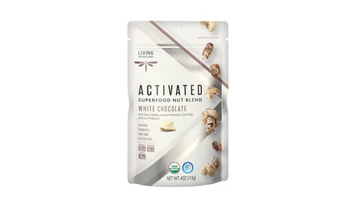 Organic Superfood Nut Blends - White Chocolate, w/Live Cultures- Code#: SN2082