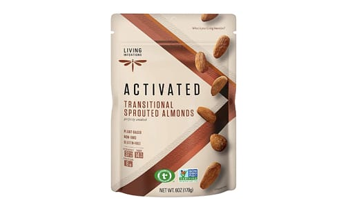 Sprouted Nuts - Almonds Unsalted- Code#: SN2085