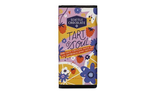 Tart & Soul Dark & White Chocolate Bar- Code#: SN2101