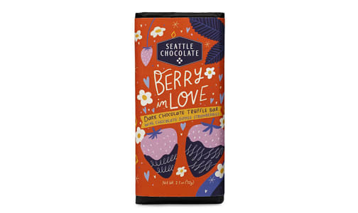 Berry in Love Dark Chocolate & Strawberry Bar- Code#: SN2102