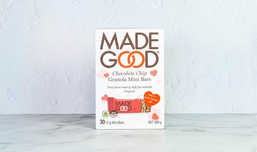 Organic Chocolate Chip Granola Mini Bars- Code#: SN2109