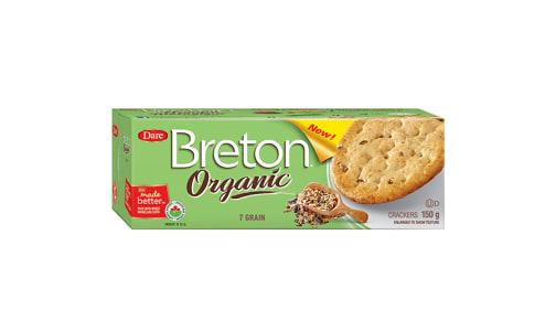 Organic Seven Grain Crackers- Code#: SN2113