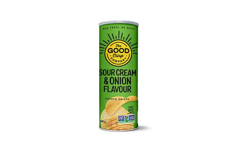 Sour Cream & Onion Potato Crisps- Code#: SN2131