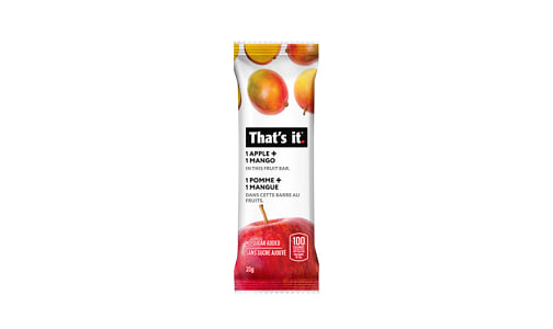 Apple + Mango Fruit Bar- Code#: SN2137