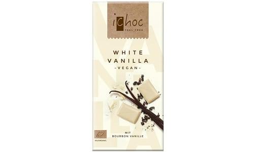 Organic White Vanilla Chocolate Bar- Code#: SN2176