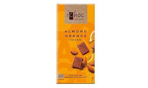 Organic Almond Orange Chocolate Bar- Code#: SN2178