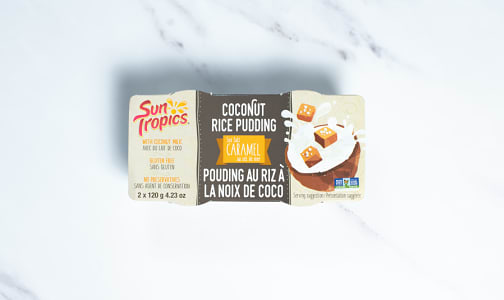 Coconut Rice Pudding - Sea Salt Caramel- Code#: SN2183