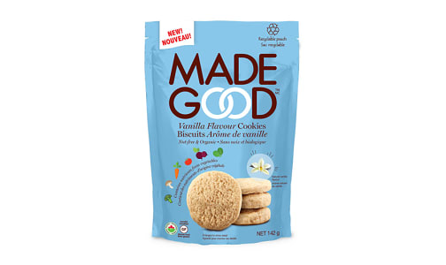 Organic Crunchy Cookies - Vanilla- Code#: SN2207