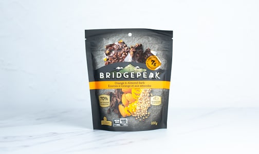Chocolate Orange Almond Bark- Code#: SN2223