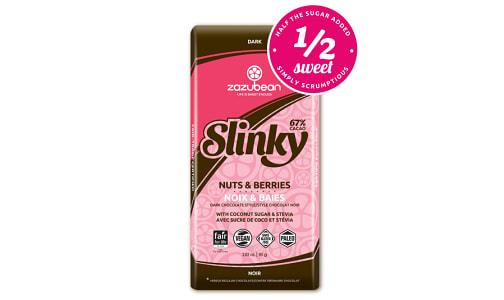 Organic Slinky: Nuts & Berries Chocolate Bar- Code#: SN2235