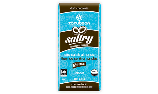 Organic Saltry Chocolate Bar- Code#: SN2237