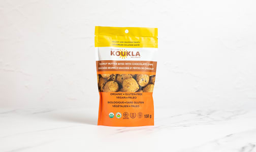Organic Chocolate Chip Peanut Butter Bites- Code#: SN2295