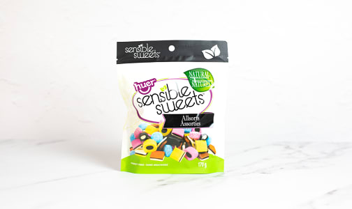 Natural Licorice Allsorts - Small- Code#: SN2312