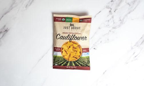 Organic Cauliflower Tortilla Chips- Code#: SN2334