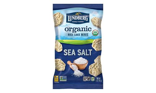 Organic Rice Cake Mini Sea Salt- Code#: SN2340