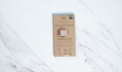 Cappuccino Chocolate Bar 36%- Code#: SN2357