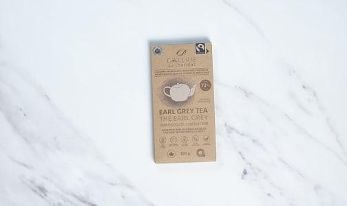 Organic Earl Grey Chocolate Bar 72%- Code#: SN2359