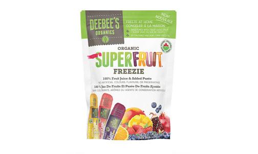 Organic Superfruit Freezie 10pk  freeze-at-home - Code#: SN2365