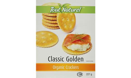 Organic Golden Crackers- Code#: SN2383