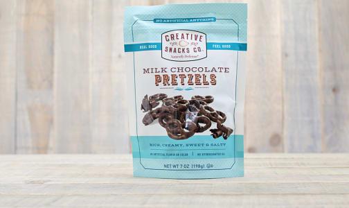 Milk Chocolate Pretzels- Code#: SN256