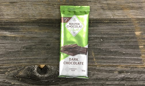 Organic Dark Chocolate Bar 75%- Code#: SN3048