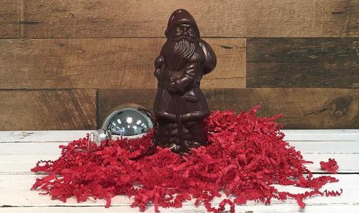 Large Dark Chocolate Santa 100g- Code#: SN3080
