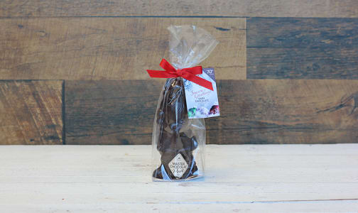 Small Dark Chocolate Santa 40g- Code#: SN3082