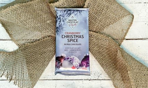 Milk Chocolate Christmas Spice Bars 80g- Code#: SN3085