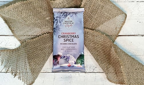 Dark Chocolate Christmas Spice Bar 80g- Code#: SN3086