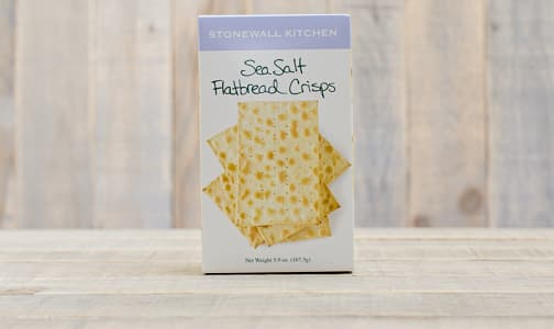 Sea Salt Flatbread Crisps- Code#: SN308