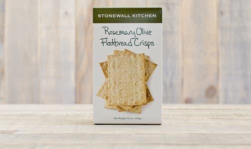 Rosemary Olive Flatbread Crisps- Code#: SN309