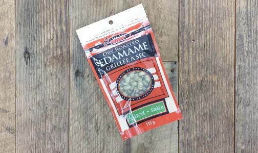 Dry Roasted Edamame - Salted- Code#: SN3130