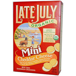 Mini Cheddar Cheese Sandwich Crackers- Code#: SN3336