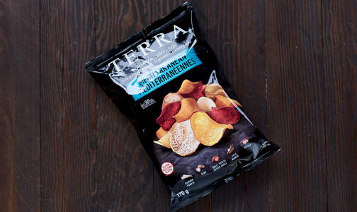 Vegetable Chips, Mediterranean- Code#: SN3651