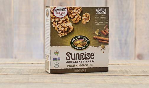 Organic Flax Plus Pumpkin-N-Spice Granola Bars- Code#: SN3821