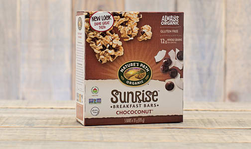 Organic Chococonut Granola Bars, Box of 5- Code#: SN3822
