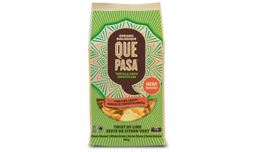 Organic Tortilla Chips - Twist of Lime- Code#: SN4260