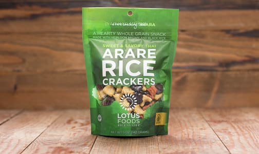 Sweet & Savoury Thai Arare Rice Crackers- Code#: SN4301